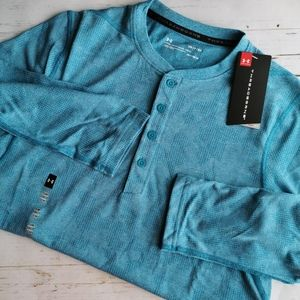 NWT Men's Threadbourne Fitted 3/4 Utility Shirt